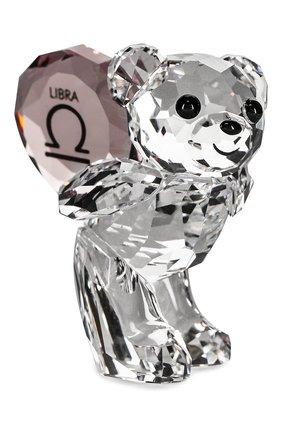 Мужского фигурка kris bear libra SWAROVSKI прозрачного цвета, арт. 5396284   Фото 2