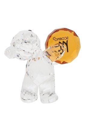 Мужского фигурка kris bear scorpio SWAROVSKI прозрачного цвета, арт. 5396286   Фото 2