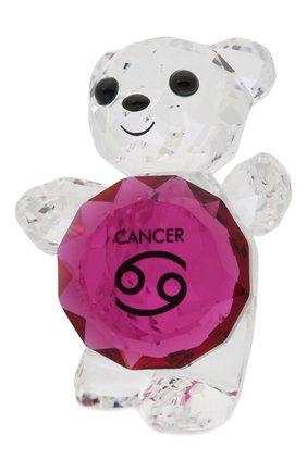 Мужского фигурка kris bear cancer SWAROVSKI прозрачного цвета, арт. 5396299   Фото 2