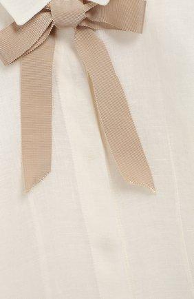 Детский комплект из юбки и блузы с жакетом DESIGNERS CAT бежевого цвета, арт. 100000K01000090/4A-8A   Фото 7