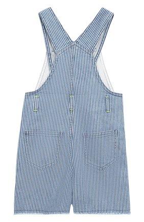 Детский джинсовый комбинезон IL GUFO синего цвета, арт. P19ST052J1000/24M | Фото 2
