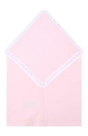 Детская хлопковая бандана IL TRENINO розового цвета, арт. 19 8600/E0 | Фото 2