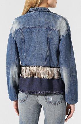 Джинсовая куртка Johanna Ortiz синяя   Фото №4