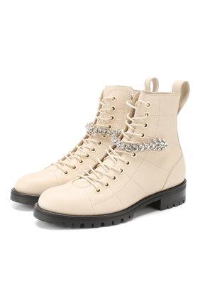 Кожаные ботинки Cruz Flat  | Фото №1