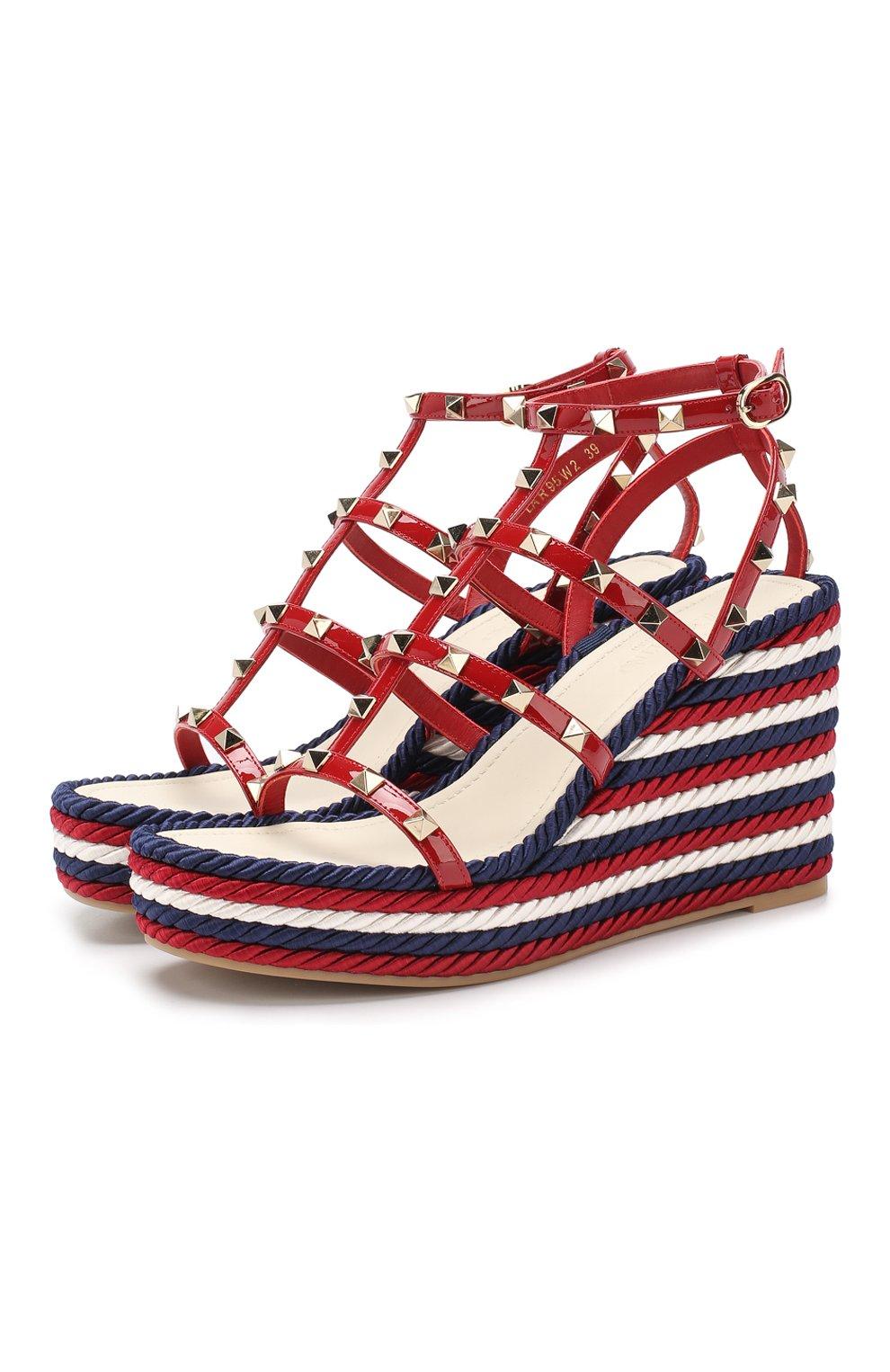 d43a2486b5d1 Женская обувь Valentino по цене от 16 500 руб. купить в интернет-магазине  ЦУМ