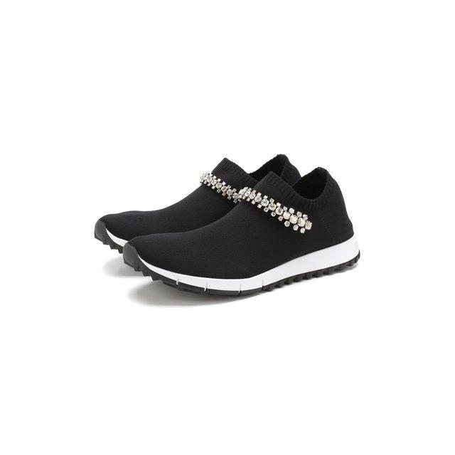 Текстильные кроссовки Verona Jimmy Choo — Текстильные кроссовки Verona