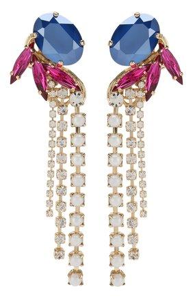 Серьги с отделкой кристаллами Swarovski   Фото №1
