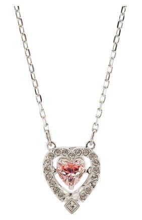 Женская колье dance heart SWAROVSKI серебряного цвета, арт. 5465284 | Фото 2