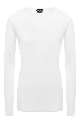 Пуловер из смеси кашемира и шелка