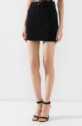 Джинсовая юбка Givenchy черная | Фото №3