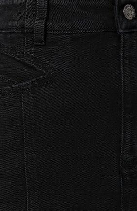 Джинсовая юбка Givenchy черная | Фото №5