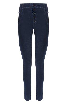 Женские джинсы-скинни J BRAND синего цвета, арт. JB001886 | Фото 1