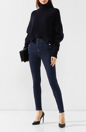 Женские джинсы-скинни J BRAND синего цвета, арт. JB001886 | Фото 2