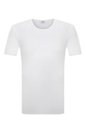 Мужские футболка из вискозы ZIMMERLI белого цвета, арт. 700-1339 | Фото 1