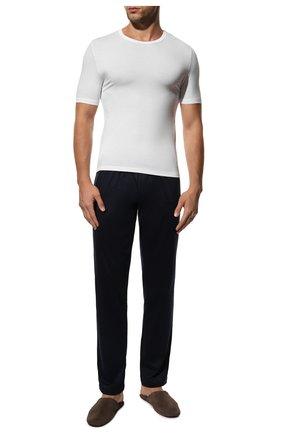 Мужские футболка из вискозы ZIMMERLI белого цвета, арт. 700-1339 | Фото 2