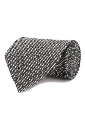 Галстук из смеси шелка и льна | Фото №1