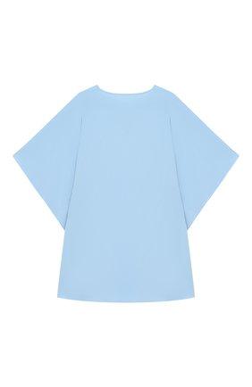 Детская туника из вискозы NATAYAKIM голубого цвета, арт. NY-019BWK   Фото 2