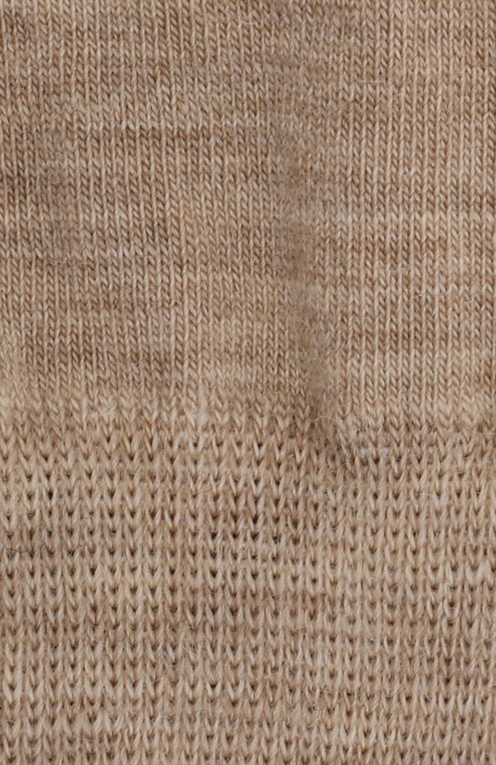 Детские шерстяные носки NORVEG бежевого цвета, арт. 9SMURU-049   Фото 2