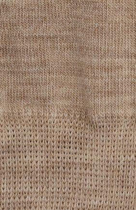 Детские шерстяные носки NORVEG бежевого цвета, арт. 9SMURU-049 | Фото 2