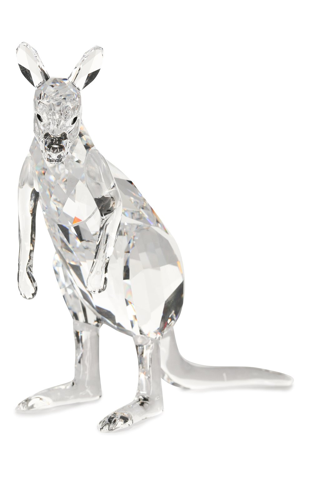 Мужского фигурки kangaroo mother and baby SWAROVSKI прозрачного цвета, арт. 5428563 | Фото 2