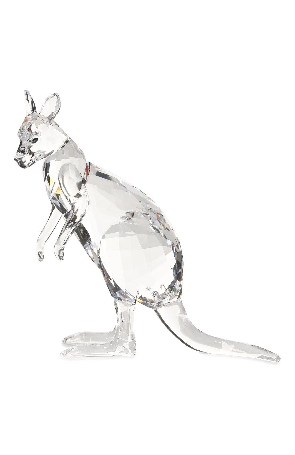 Мужского фигурки kangaroo mother and baby SWAROVSKI прозрачного цвета, арт. 5428563 | Фото 3