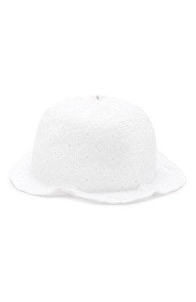 Детская соломенная шляпа IL TRENINO белого цвета, арт. 19 8328/E0 | Фото 2