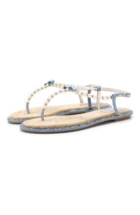 Текстильные сандалии Eliza | Фото №1