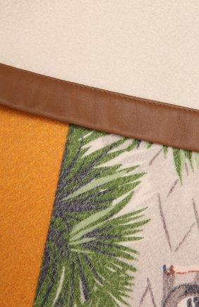 Мужского кашемировый плед LORO PIANA разноцветного цвета, арт. FAF2799 | Фото 2