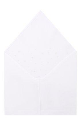 Детская хлопковая бандана IL TRENINO белого цвета, арт. 19 8528/E0 | Фото 2