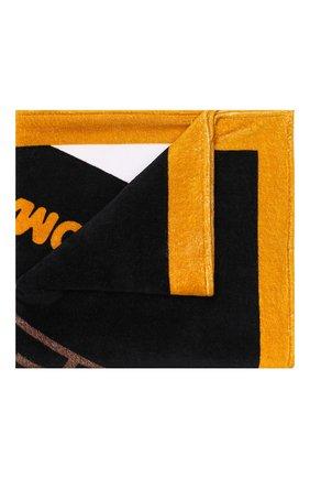 Женское хлопковое полотенце FENDI черного цвета, арт. FXA538 A6MJ | Фото 1