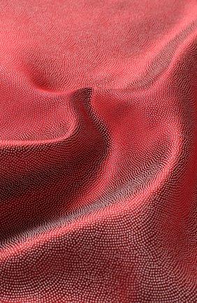 Мужской шелковый платок GIORGIO ARMANI красного цвета, арт. 360023/9P937 | Фото 2