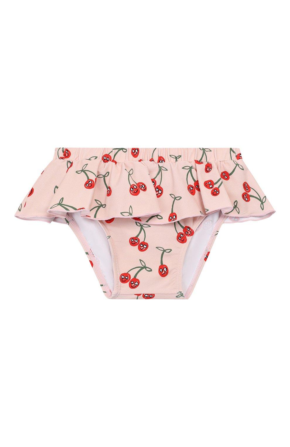 Детского плавки-бикини STELLA MCCARTNEY розового цвета, арт. 540083/SMK17 | Фото 1
