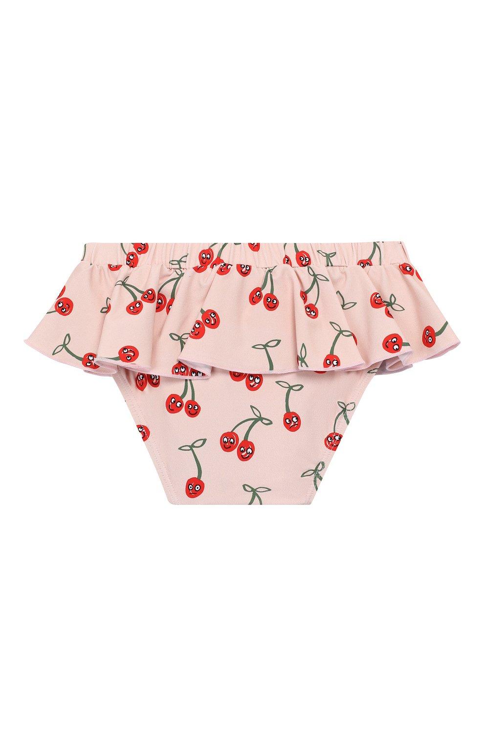 Детского плавки-бикини STELLA MCCARTNEY розового цвета, арт. 540083/SMK17 | Фото 2