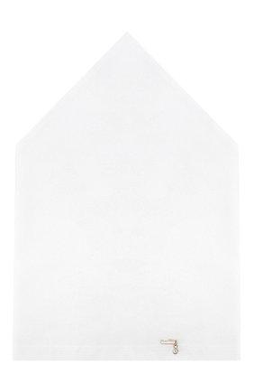 Детская хлопковая бандана IL TRENINO белого цвета, арт. 18 6355/FF | Фото 1
