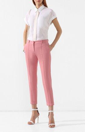 Женские джинсы LORO PIANA розового цвета, арт. FAI5089 | Фото 2
