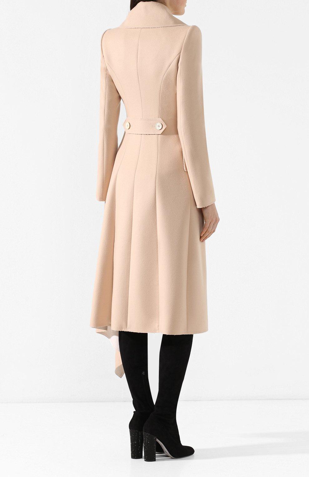Шерстяное пальто   Фото №4