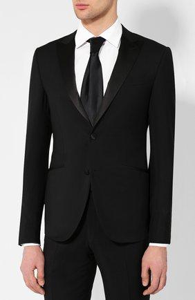 Мужской шерстяной костюм CORNELIANI черного цвета, арт. 837084-9114135/82G1 | Фото 2