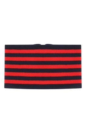 Шерстяной шарф-снуд   Фото №2