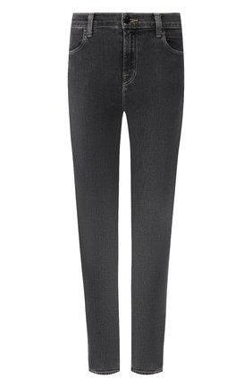 Женские джинсы-скинни J BRAND темно-серого цвета, арт. JB000852/D | Фото 1