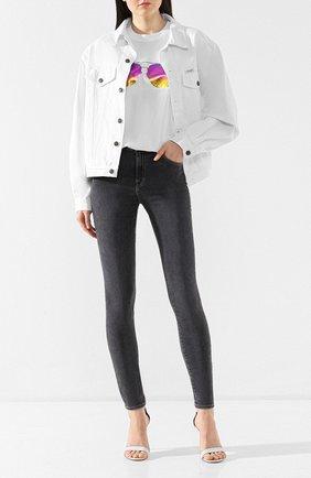 Женские джинсы-скинни J BRAND темно-серого цвета, арт. JB000852/D | Фото 2