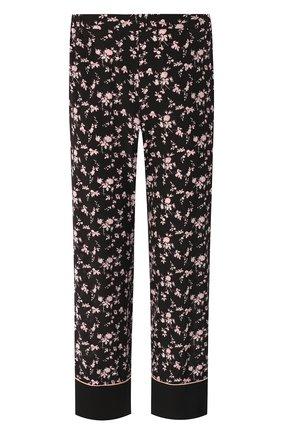 Шелковые брюки No. 21 черные | Фото №1