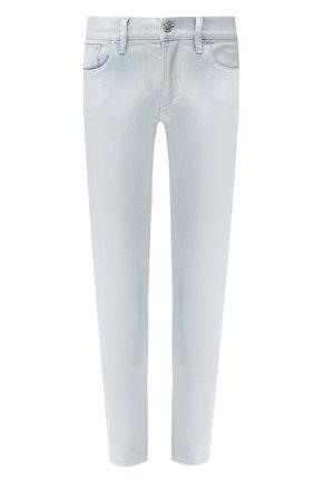 Женские джинсы-скинни RALPH LAUREN голубого цвета, арт. 290739837 | Фото 1