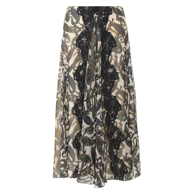 Шелковая юбка Chloé