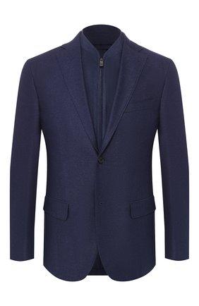 Пиджак из смеси шелка и хлопка   Фото №1