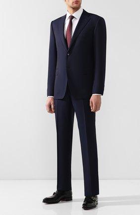 Мужской шерстяной костюм CORNELIANI темно-синего цвета, арт. 837315-9118150/92 Q1 | Фото 1