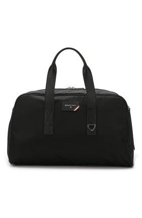 Мужская текстильная спортивная сумка flynn BALLY черного цвета, арт. FLYNN/00 | Фото 1