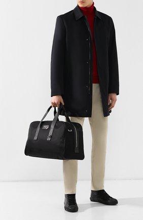 Мужская текстильная спортивная сумка flynn BALLY черного цвета, арт. FLYNN/00 | Фото 2