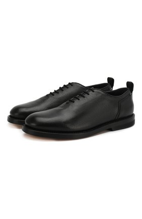 Мужские кожаные оксфорды BRUNO BORDESE черного цвета, арт. BBUCU06I | Фото 1