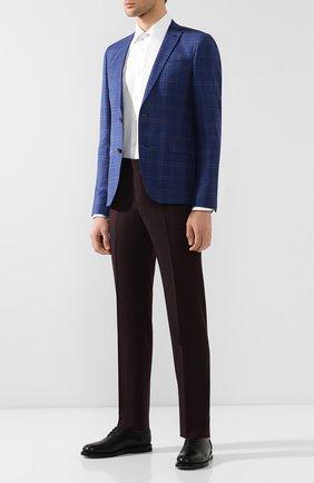 Мужские кожаные оксфорды BRUNO BORDESE черного цвета, арт. BBUCU06I | Фото 2