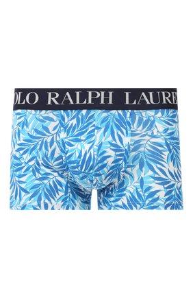 Мужские хлопковые боксеры POLO RALPH LAUREN бирюзового цвета, арт. 714730603/011 | Фото 1